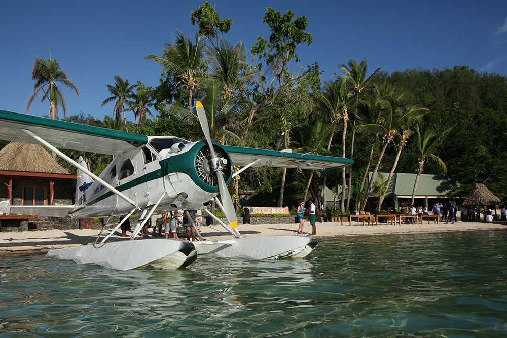 Seaplane in Fiji