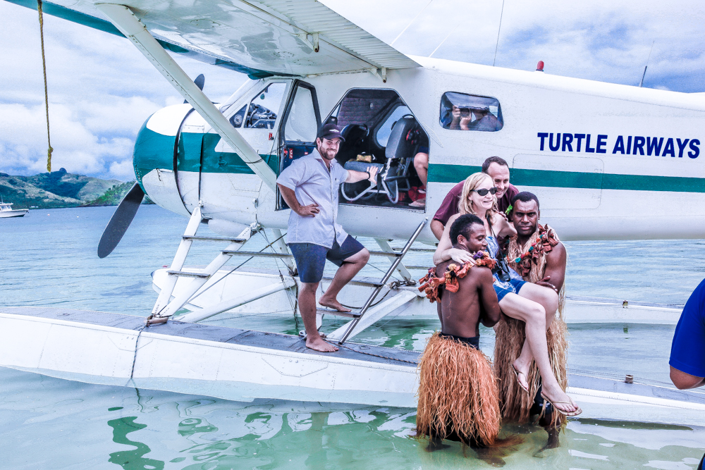 Fiji Resorts Seaplane Transfers Makes Getting There Half The Fun - Fiji vacations