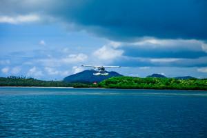getting to paradise in fiji