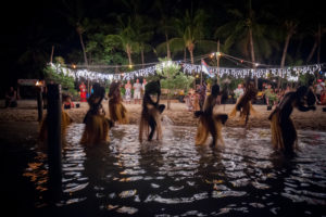 New Years at a South Pacific Resort