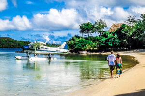 Travel to a South Pacific Resort