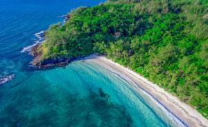 private beach in Fiji